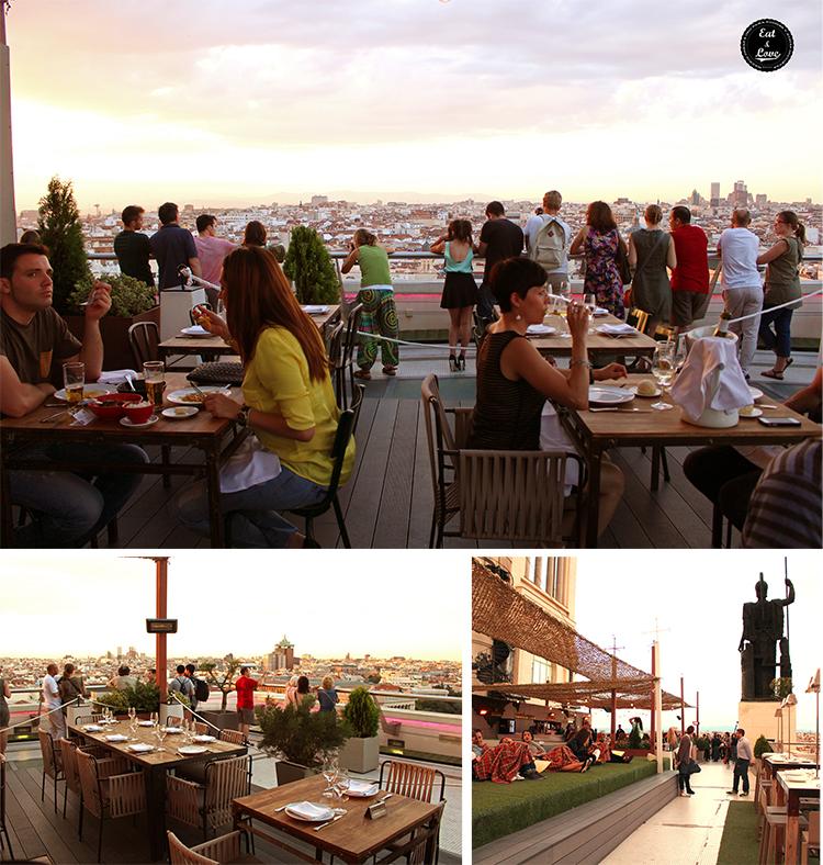 Tartan Roof - Terrazas en Madrid comer bien