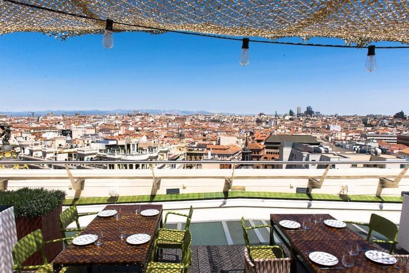 mejores terrazas Madrid - Tartan Roof