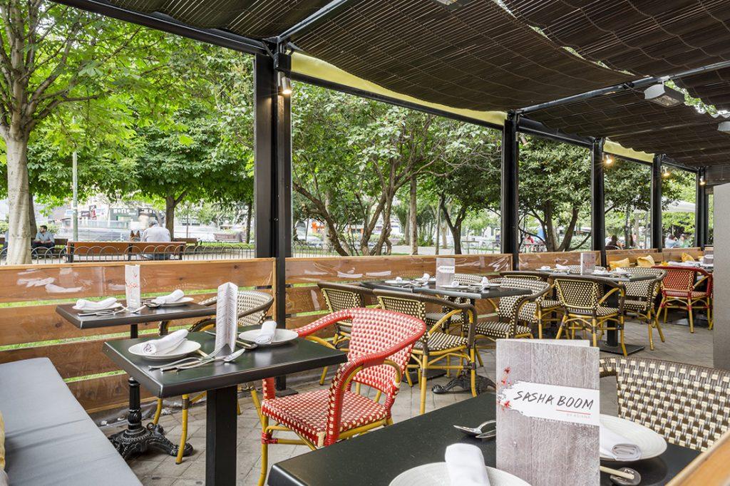 Sasha Boom - Terrazas en Madrid comer bien