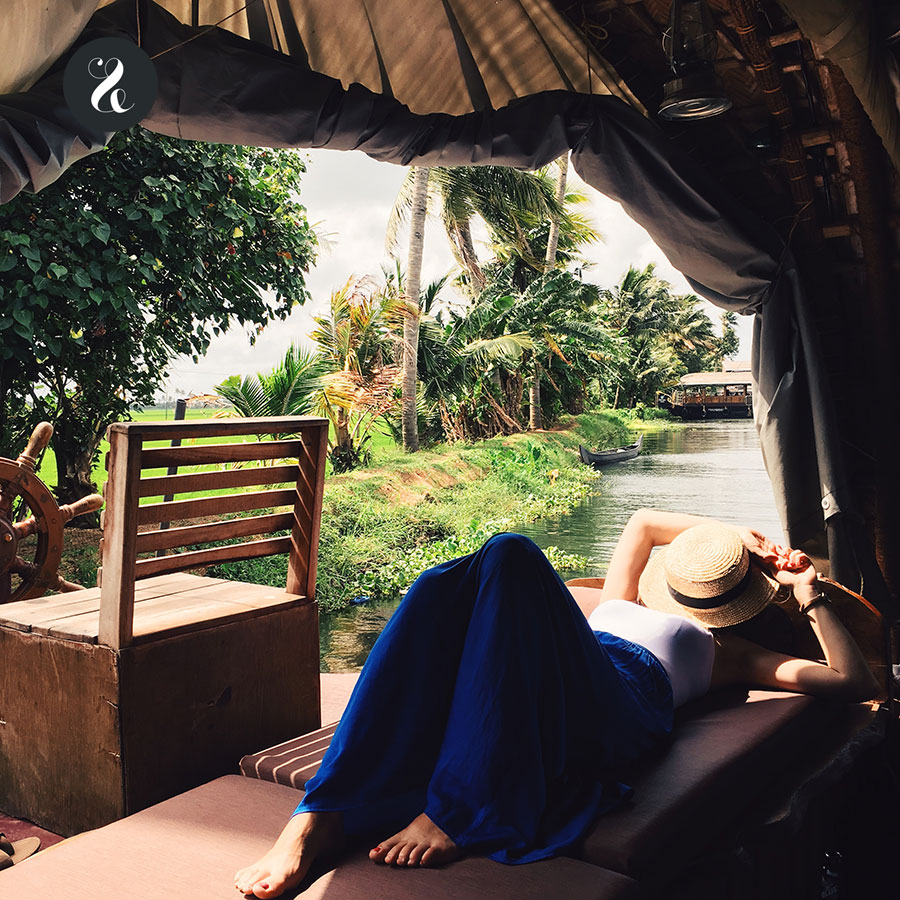 houseboat Kerala India viaje guía