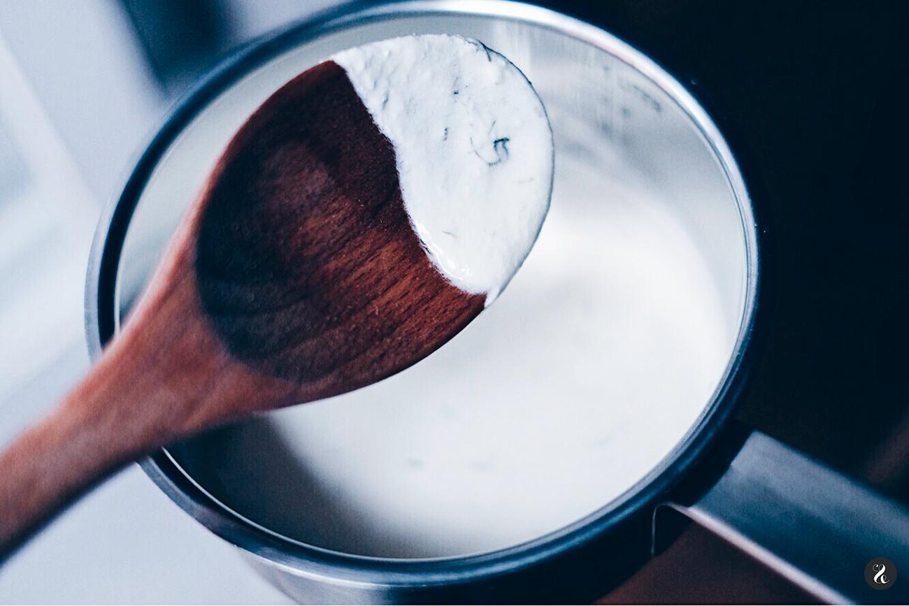 Salsa receta Salmón