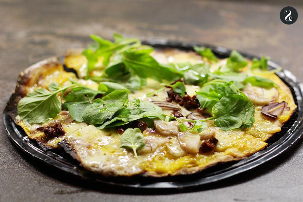 pizza indi Arallo barra Madrid