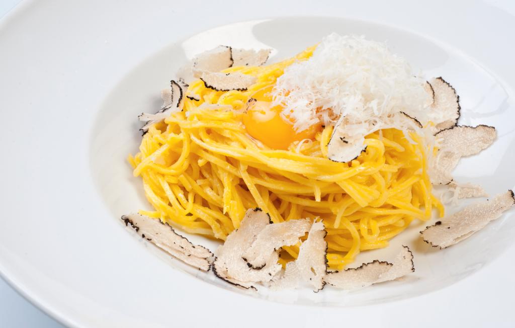 tagliolini tartufo Gioia restaurante