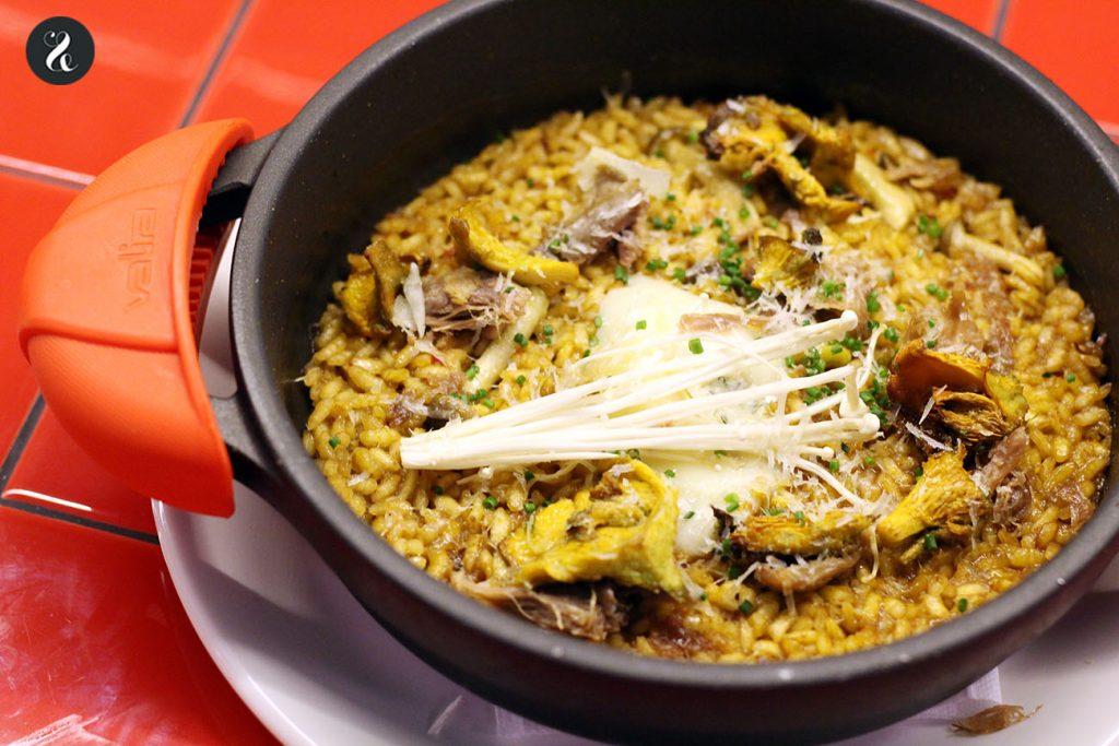 arroz pato gorgonzola los chicos las chicas los maniquis restaurante Madrid