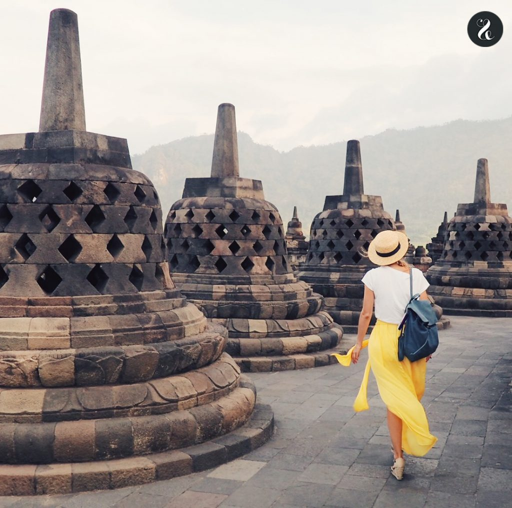 templo Borobudur guía Indonesia