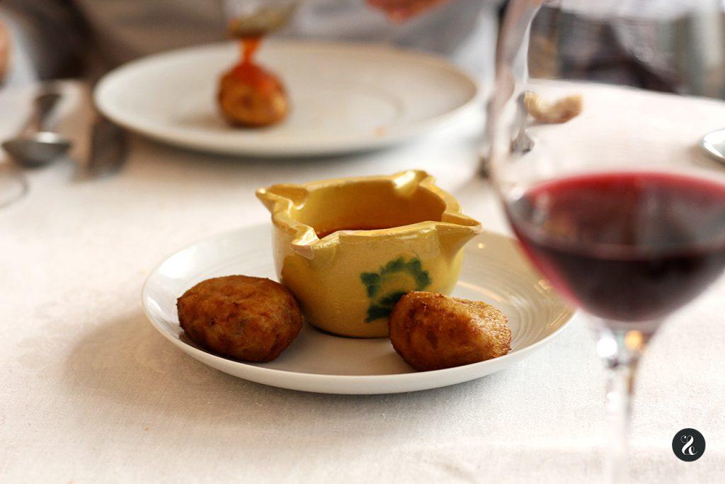 Croquetas de cocido - Casa de Cocidos Carmen - Madrid