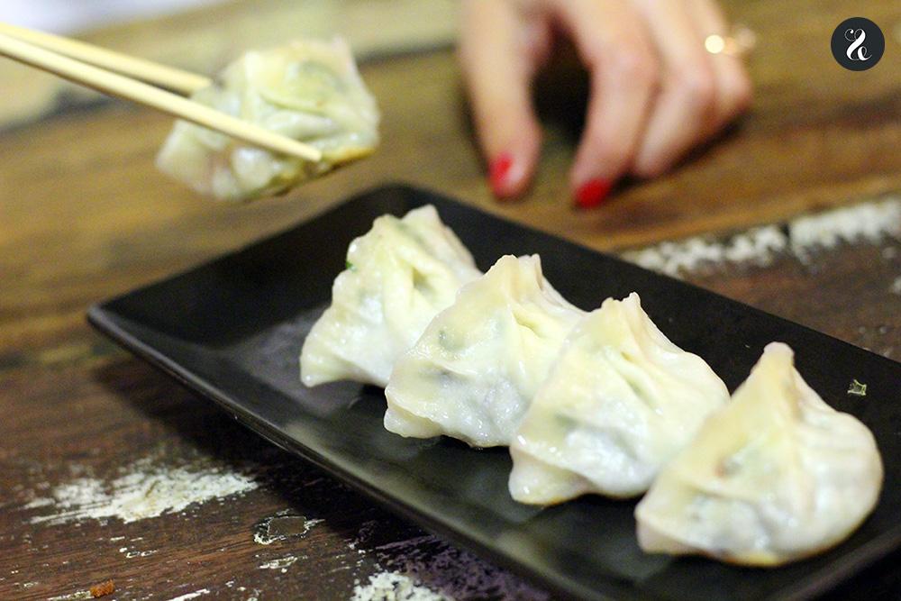 Gyozas - Konnichiwa izakaya japonesa Fuencarral Madrid