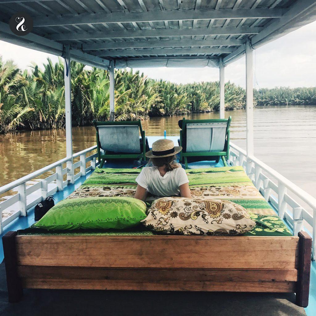 klotok Indonesia Borneo guía viaje