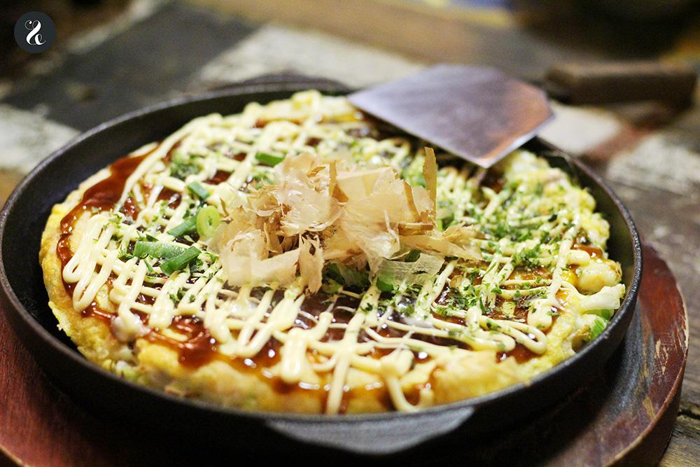Okonomiyaki - Konnichiwa izakaya japonesa Fuencarral Madrid