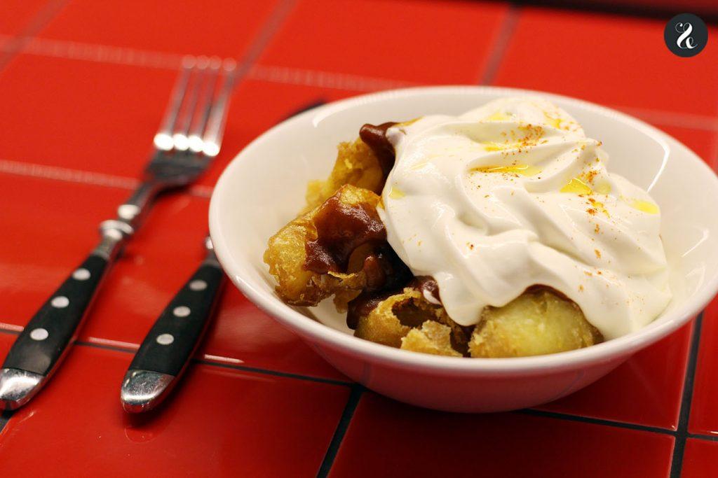 patatas bravas los chicos las chicas los maniquis restaurante Madrid