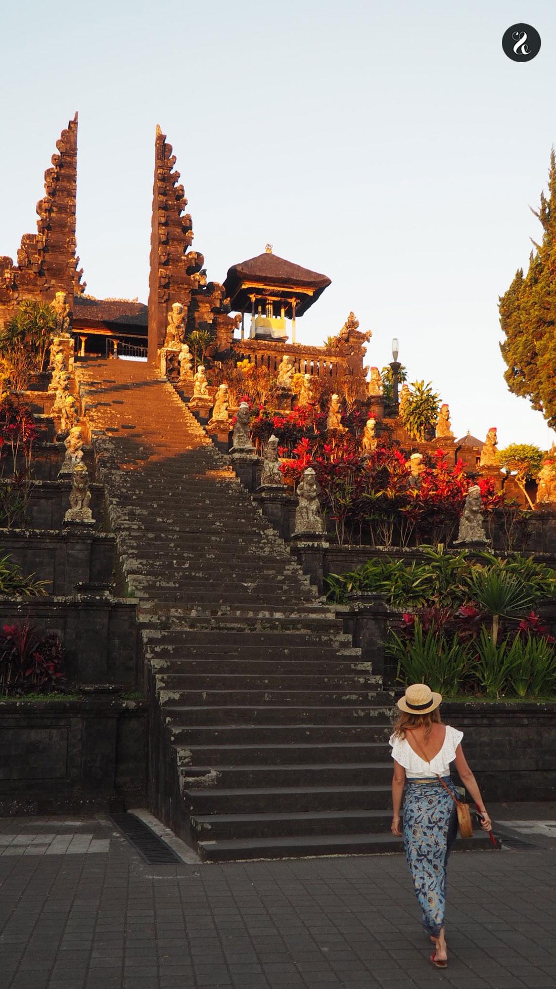 Purah Besakih en Bali guía Indonesia