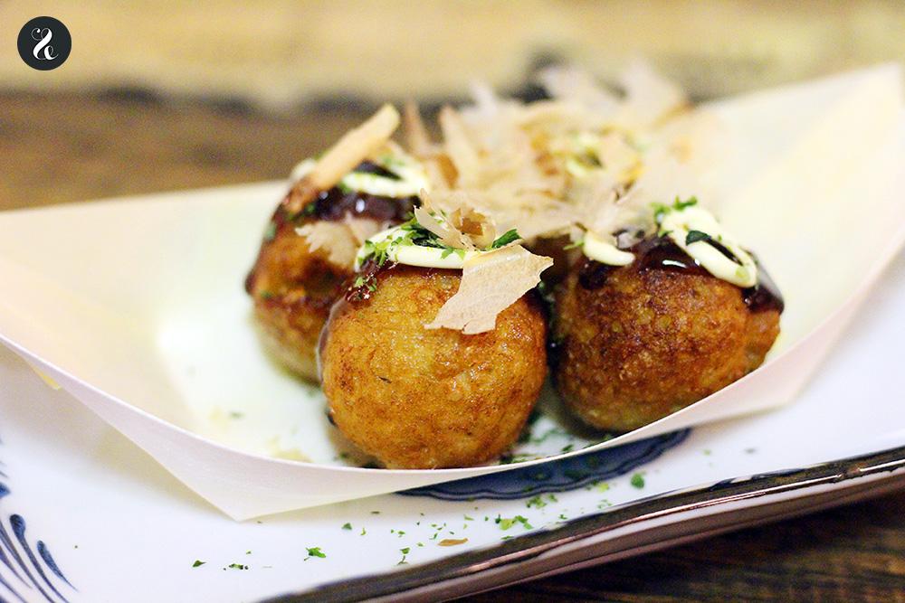 Takoyaki - Konnichiwa izakaya japonesa Fuencarral Madrid