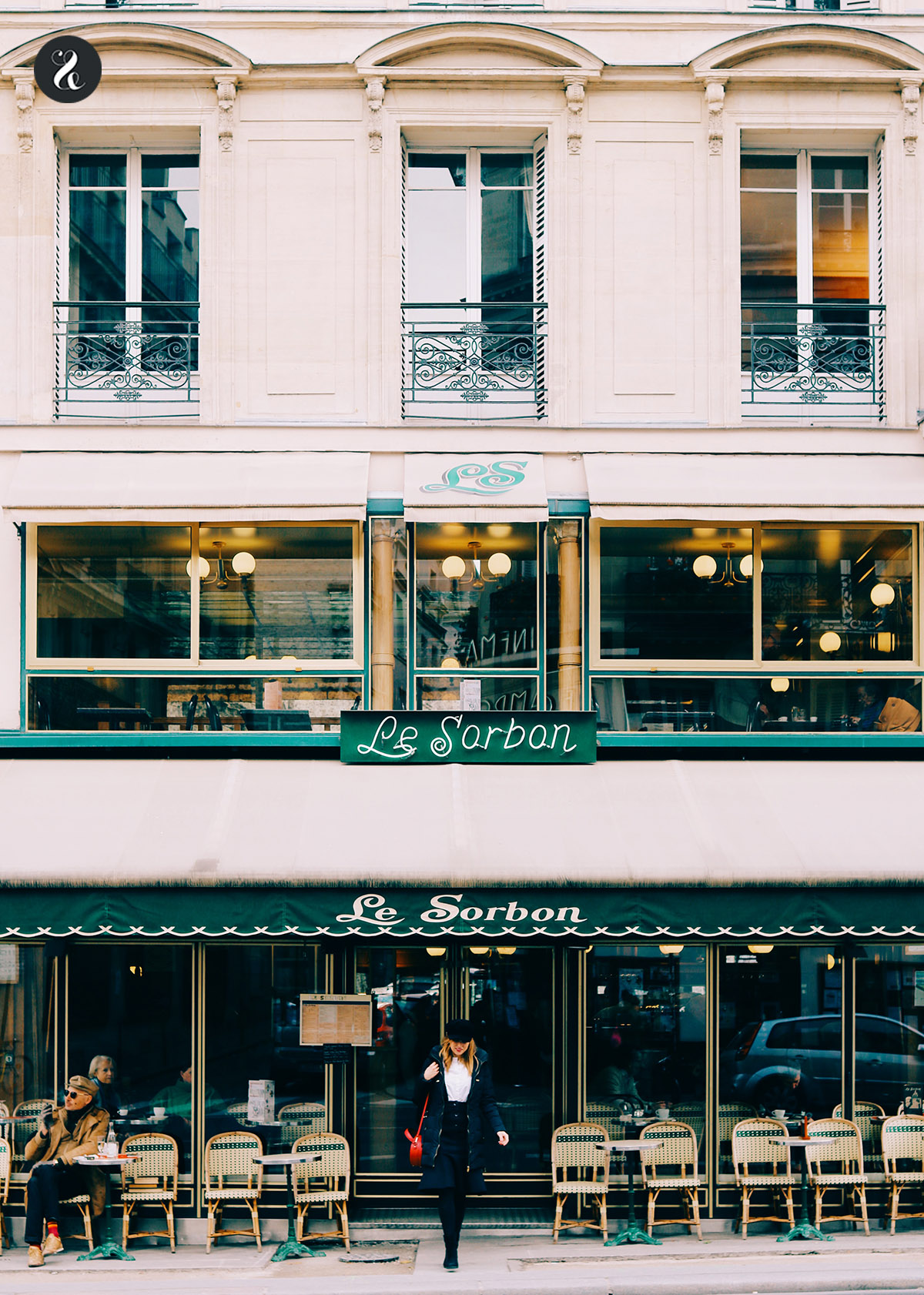 Le Sorbon café braserie Paris guía
