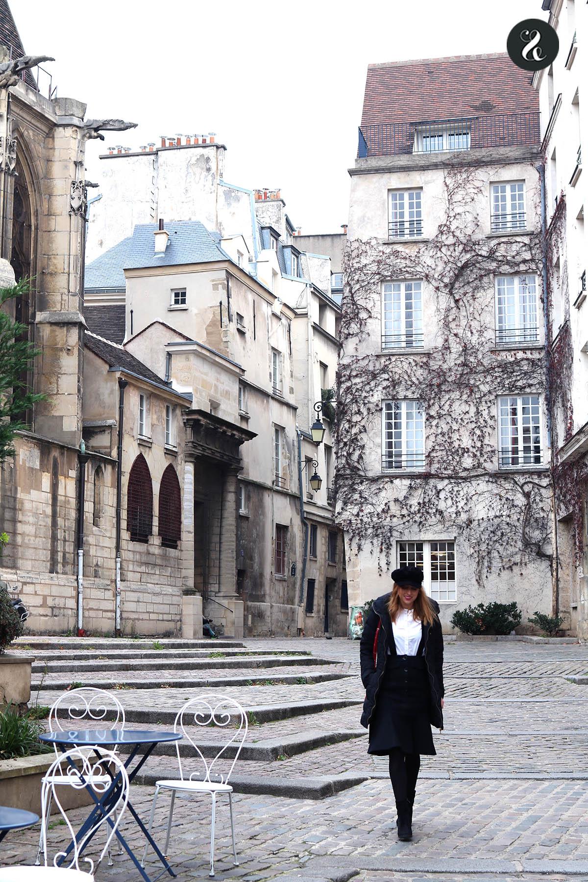 Rue des Barres Le Marais guía viajes Paris