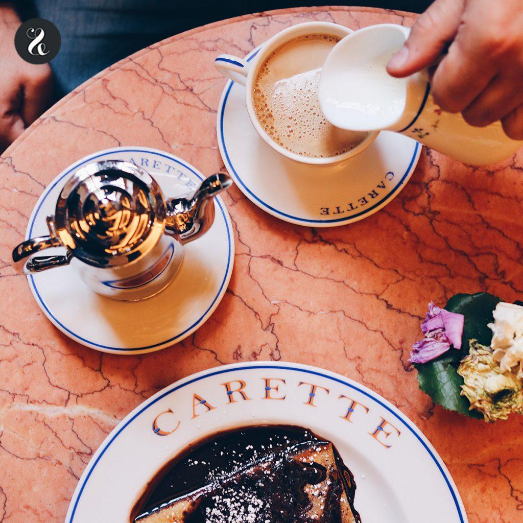 Crêpe y café Carette (Le Marais) Paris