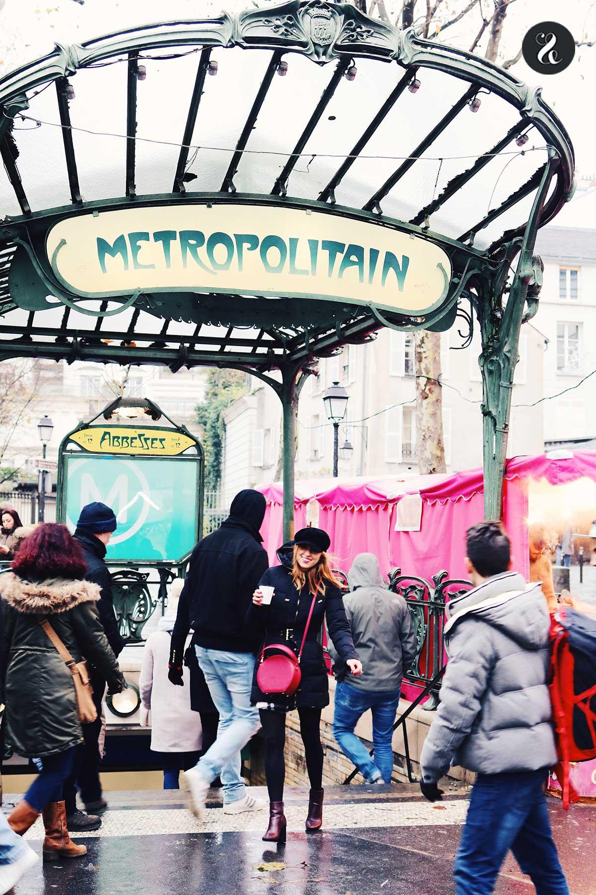 Les Abbesses Montmartre guía viajes Paris