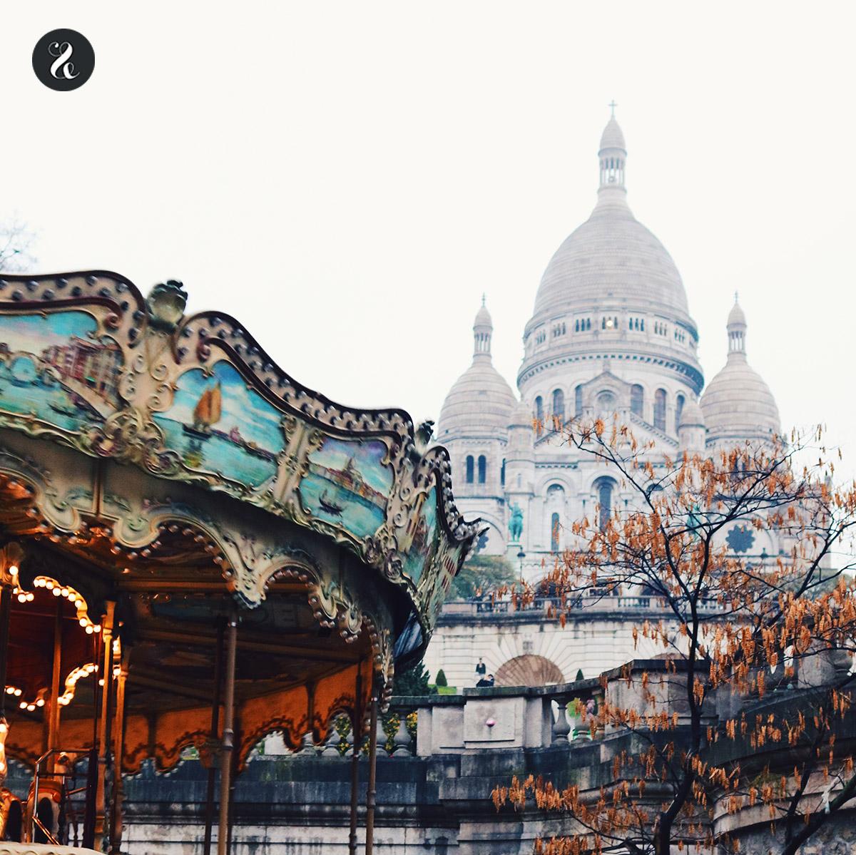 Sacre-Coeur Montmartre guía viajes Paris