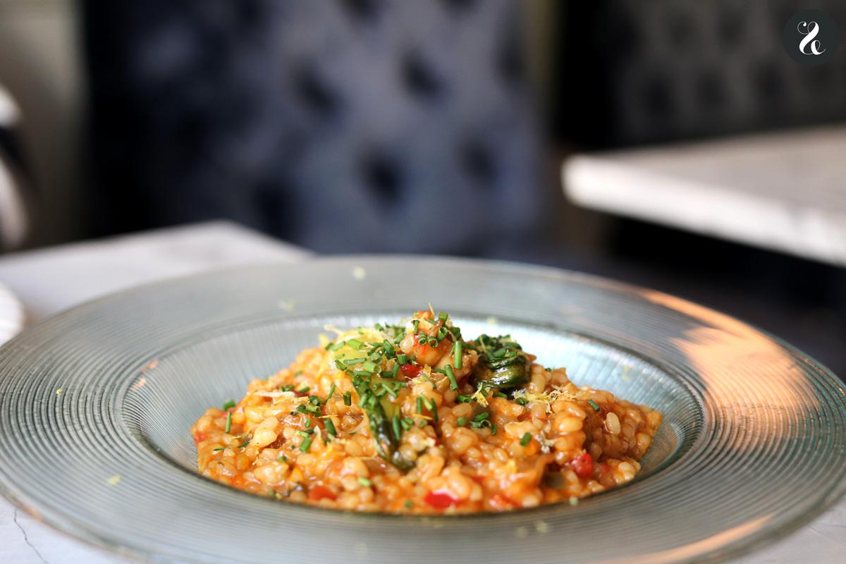 arroz meloso de gamba - Gigi restaurante Madrid