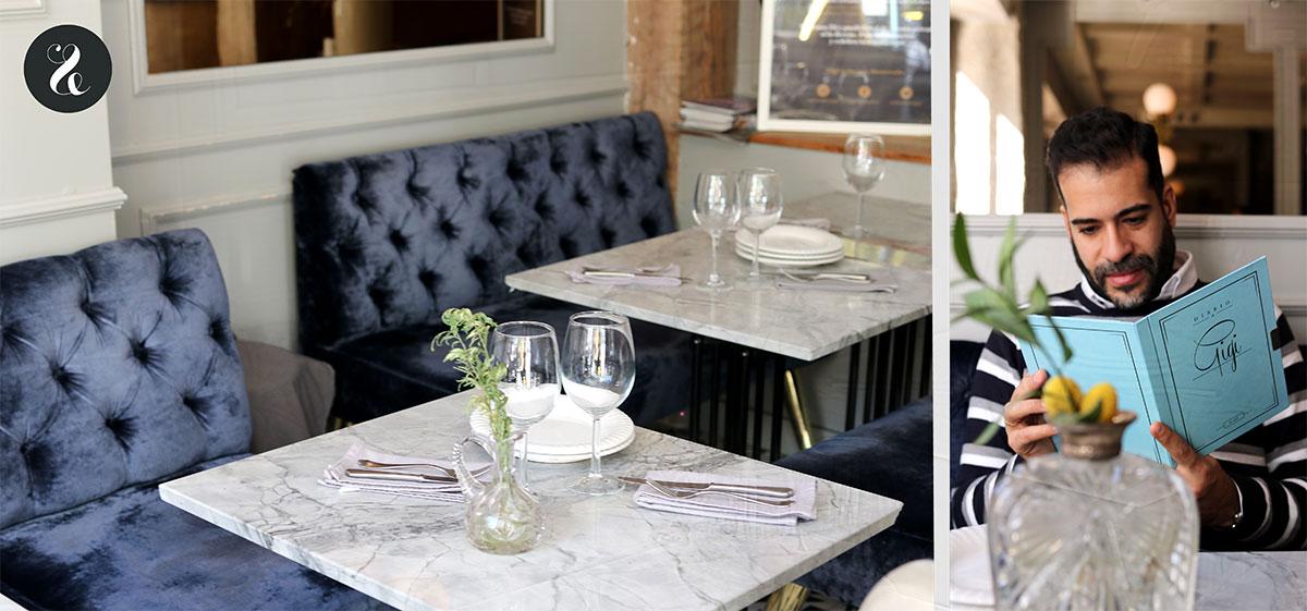 Gigi restaurante Madrid