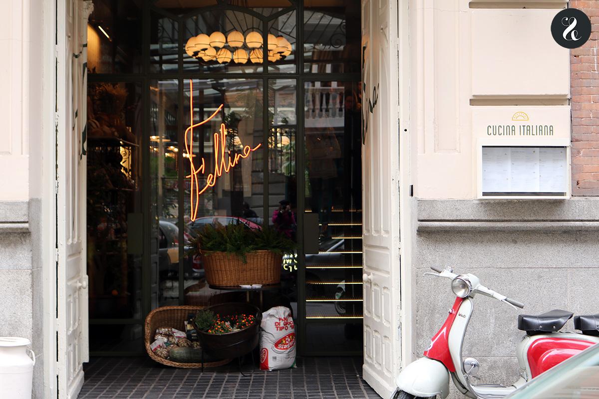 Fellina - Restaurante italiano en Madrid