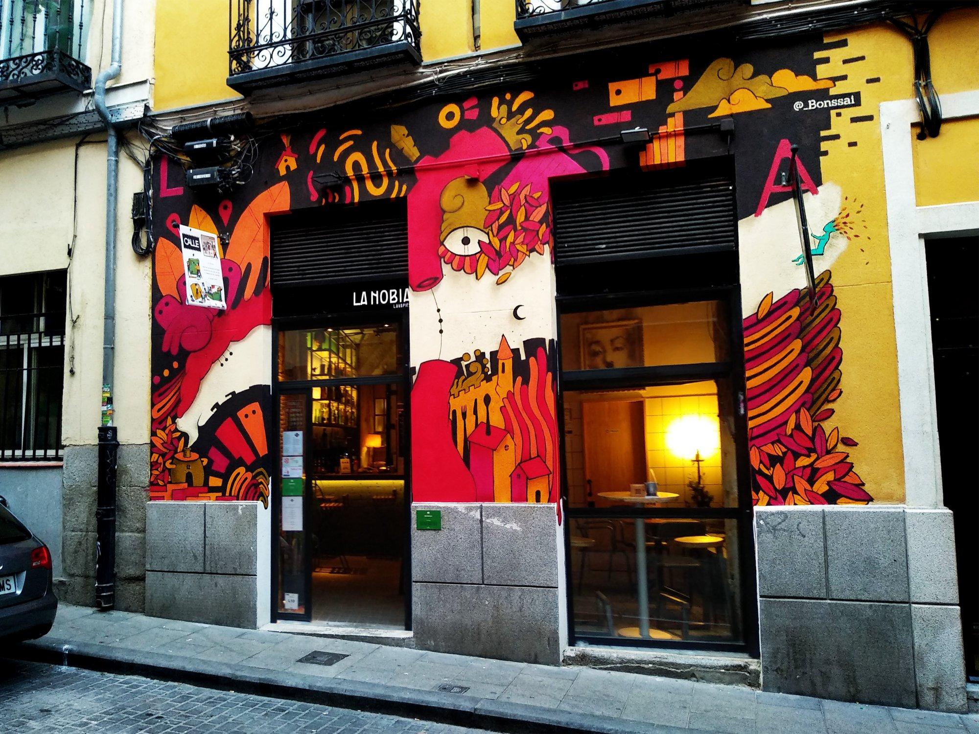 La Nobia - Restaurantes buenos, bonitos y baratos Madrid