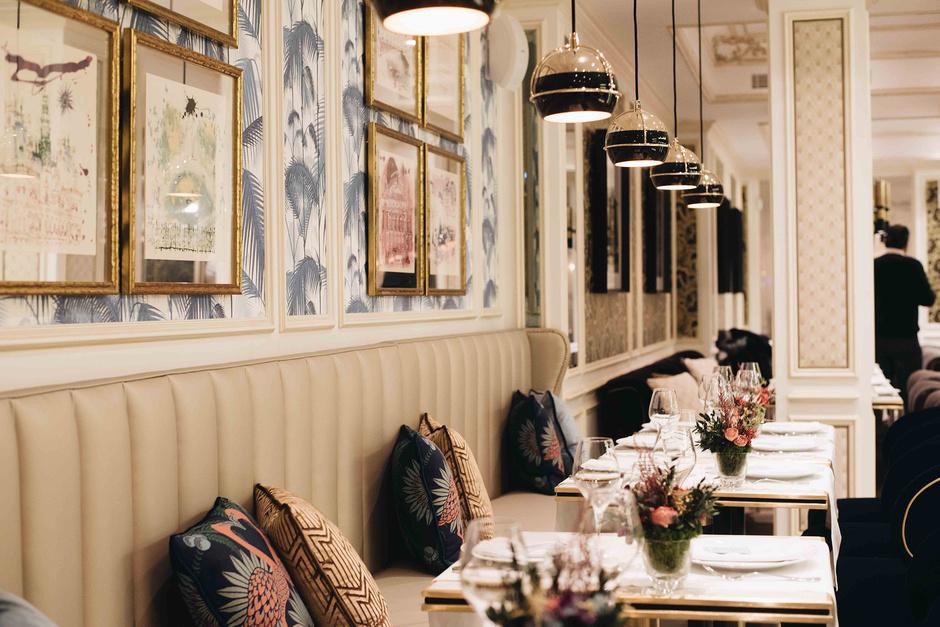 mejores restaurantes románticos Madrid - Brasserie Antoinette