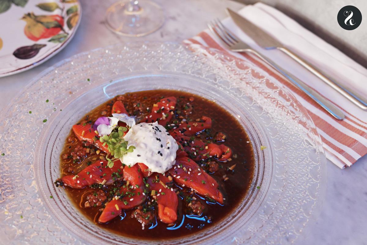 restaurante Elektra Madrid cena Navidad