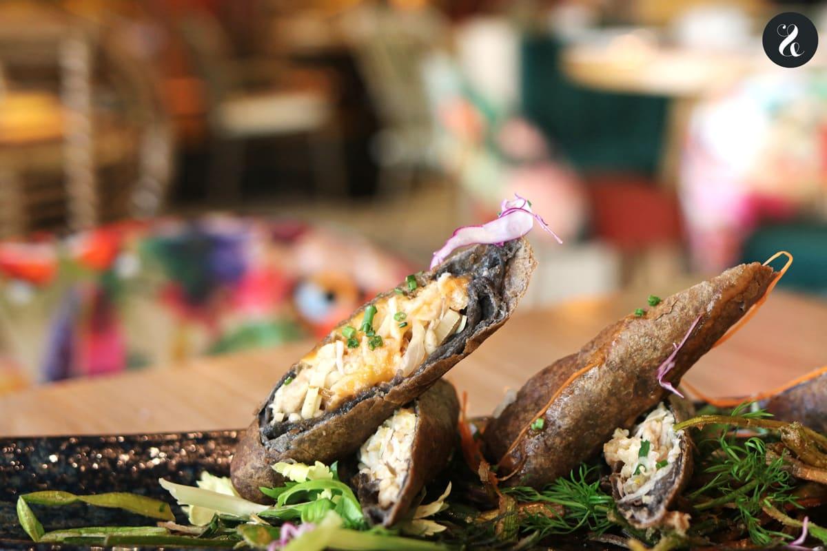 Rollitos - restaurante El Buda Feliz Madrid