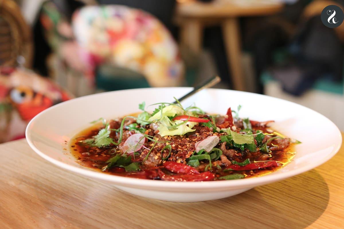 Ternera Sichuan - restaurante El Buda Feliz Madrid