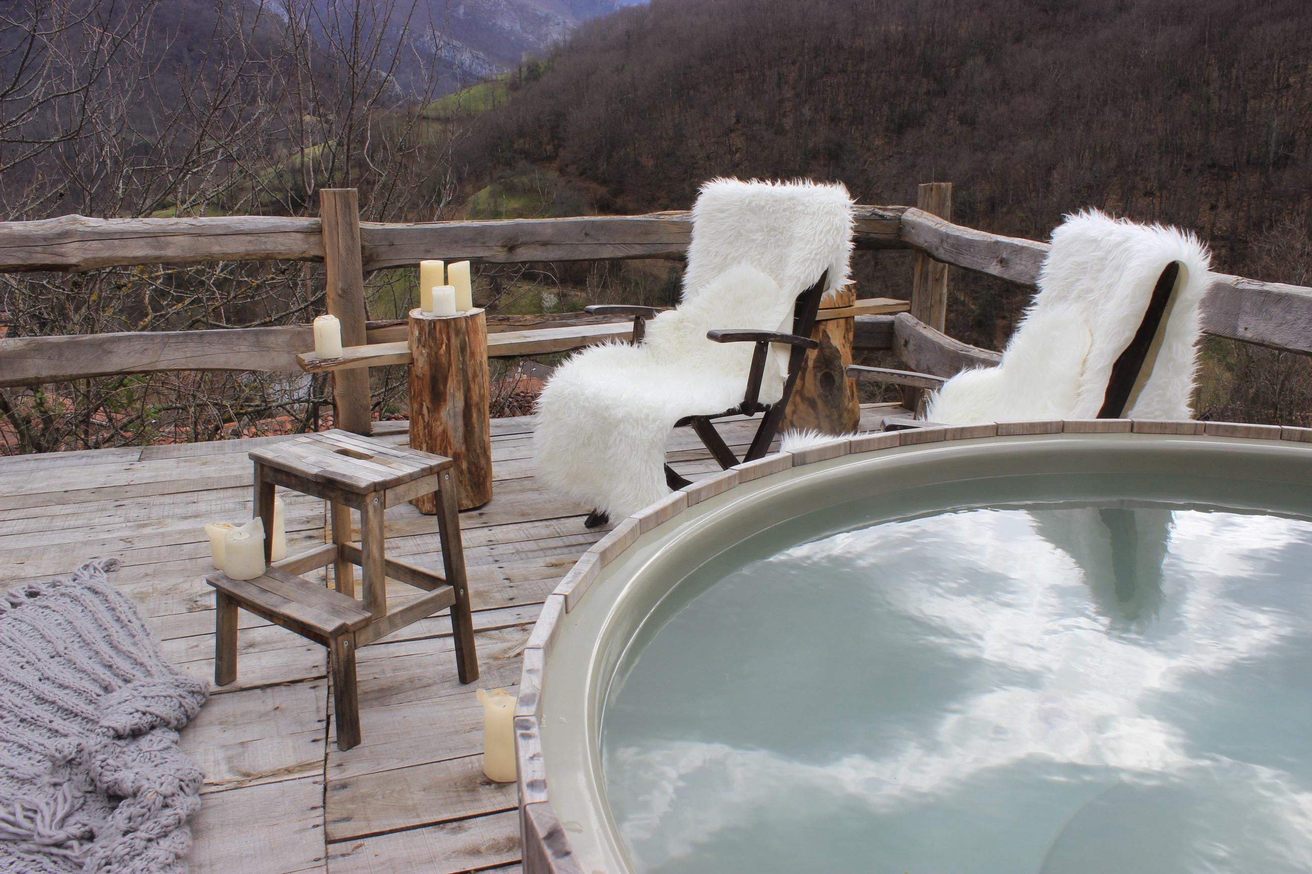 Bañera nórdica - Tierra del Agua - Parque de Redes - Asturias