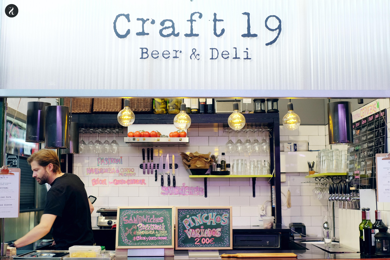 Mejores puestos comer mercados Madrid - Craft19