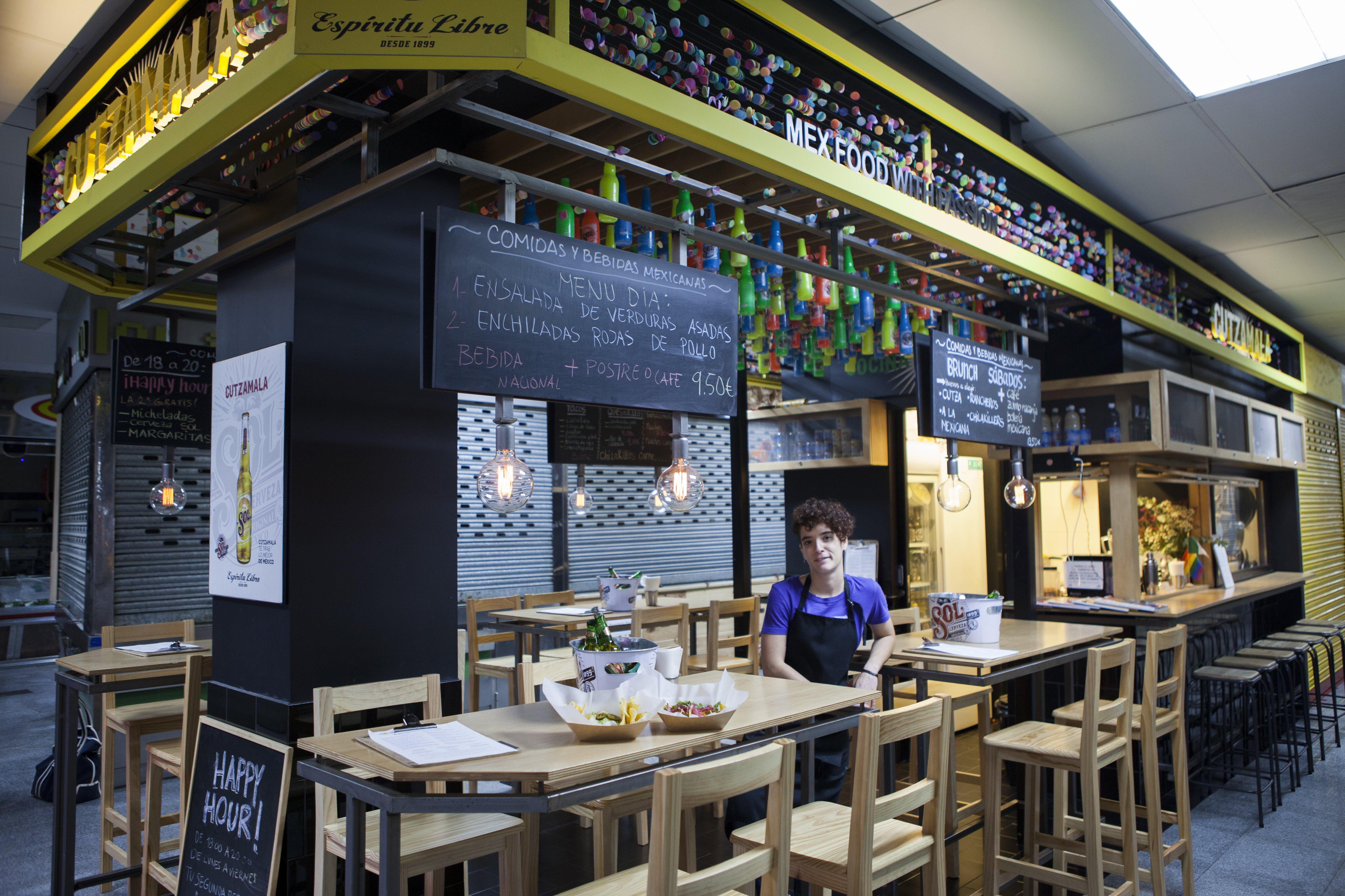Mejores puestos comer mercados Madrid - Cutzamala