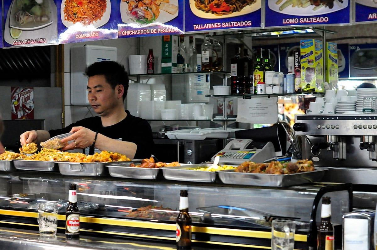 Mejores puestos comer mercados Madrid - Cafetería Lili