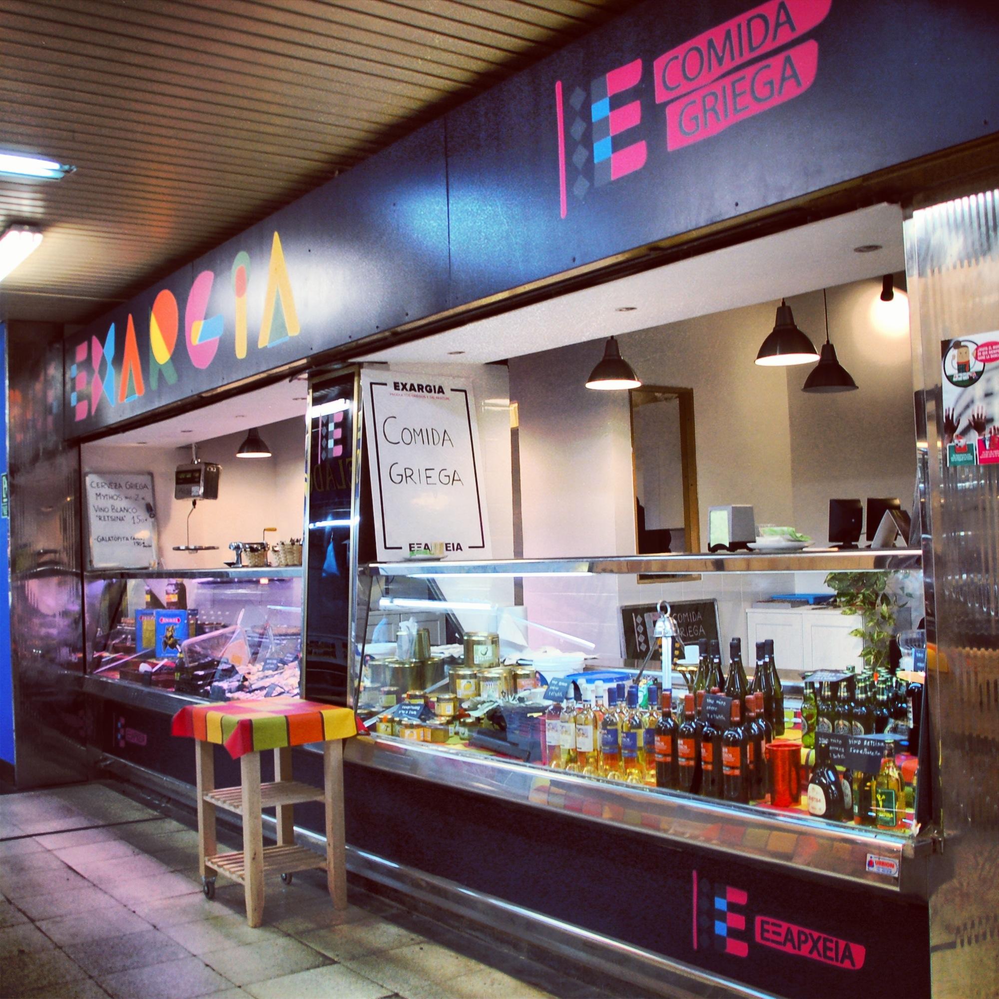 Mejores puestos comer mercados Madrid - Exargia