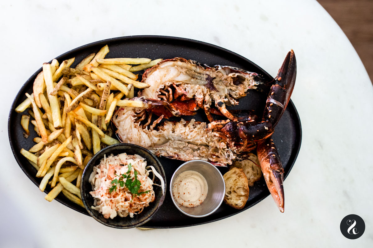 bogavante asado - Lobsterie - Madrid