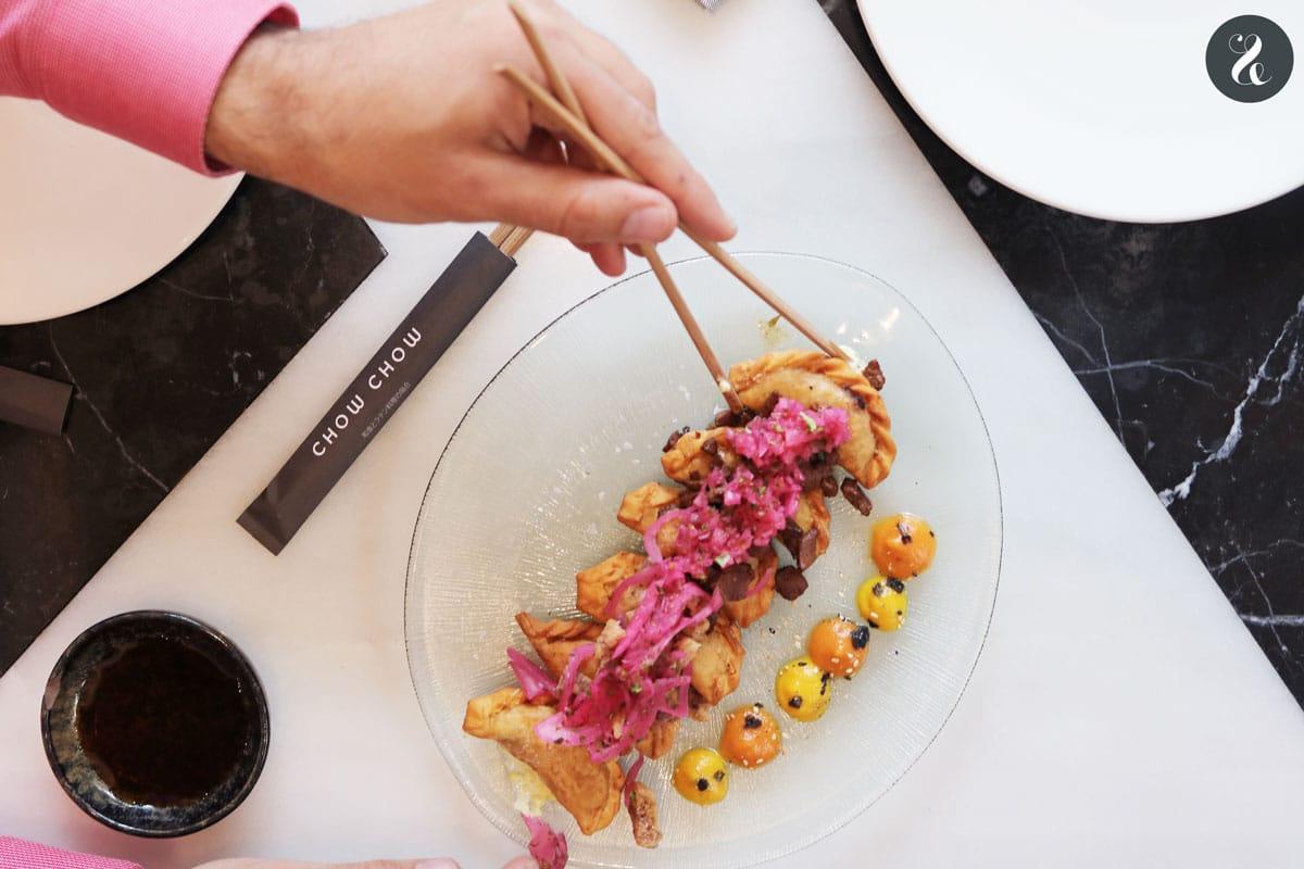 Chow Chow Madrid - gyozas - Restaurante japo-latino en Madrid