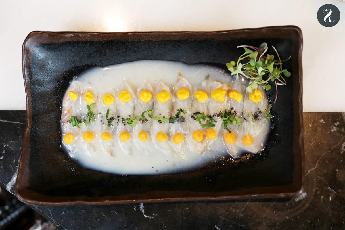 Chow Chow Madrid - Tiradito de lubina -  Restaurante japo-latino en Madrid