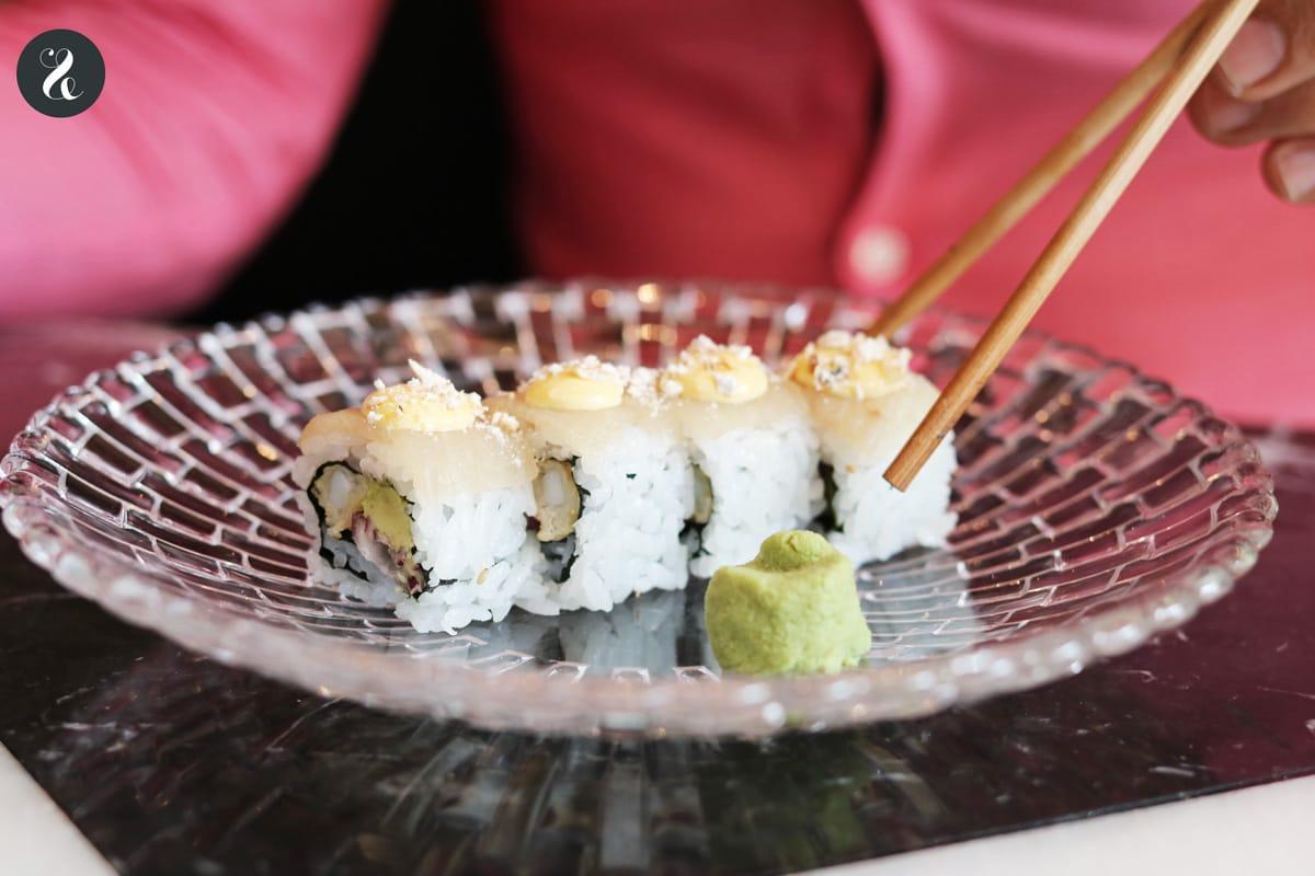 Chow Chow Madrid - roll limeño -  Restaurante japo-latino en Madrid