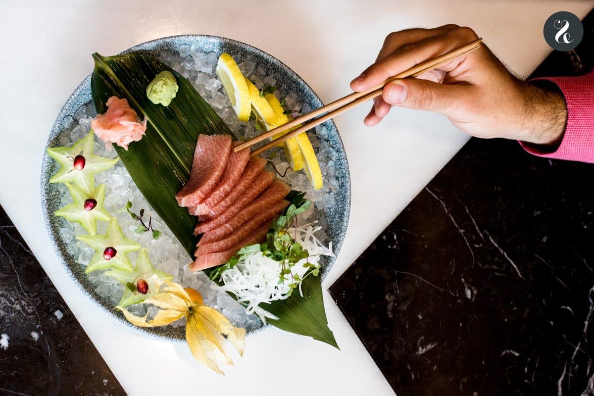Chow Chow Madrid -sashimi -  Restaurante japo-latino en Madrid
