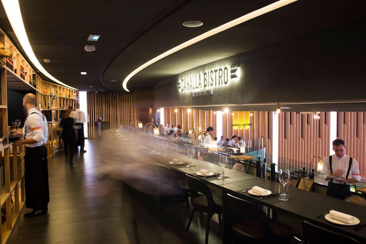 restaurantes de moda madrid - Canalla Bistro