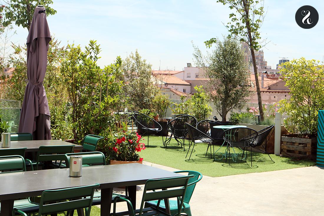 mejores terrazas Madrid - Forus Barceló