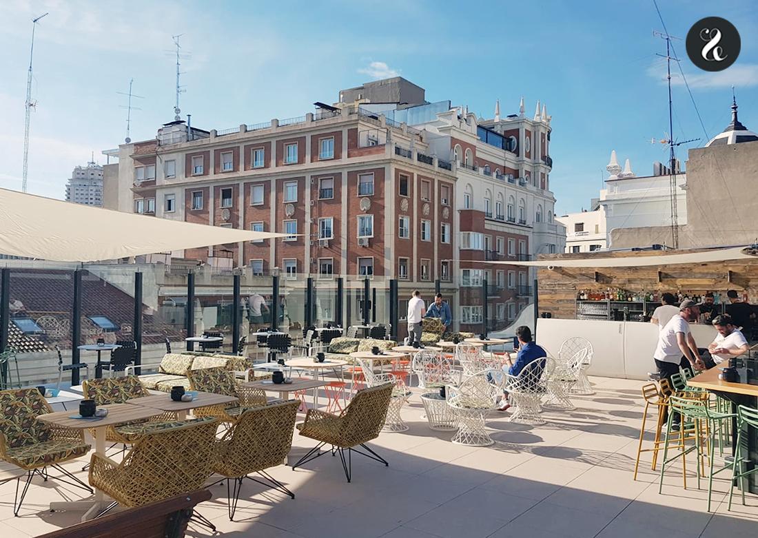 mejores terrazas Madrid - Margarita's Society Generator hostel