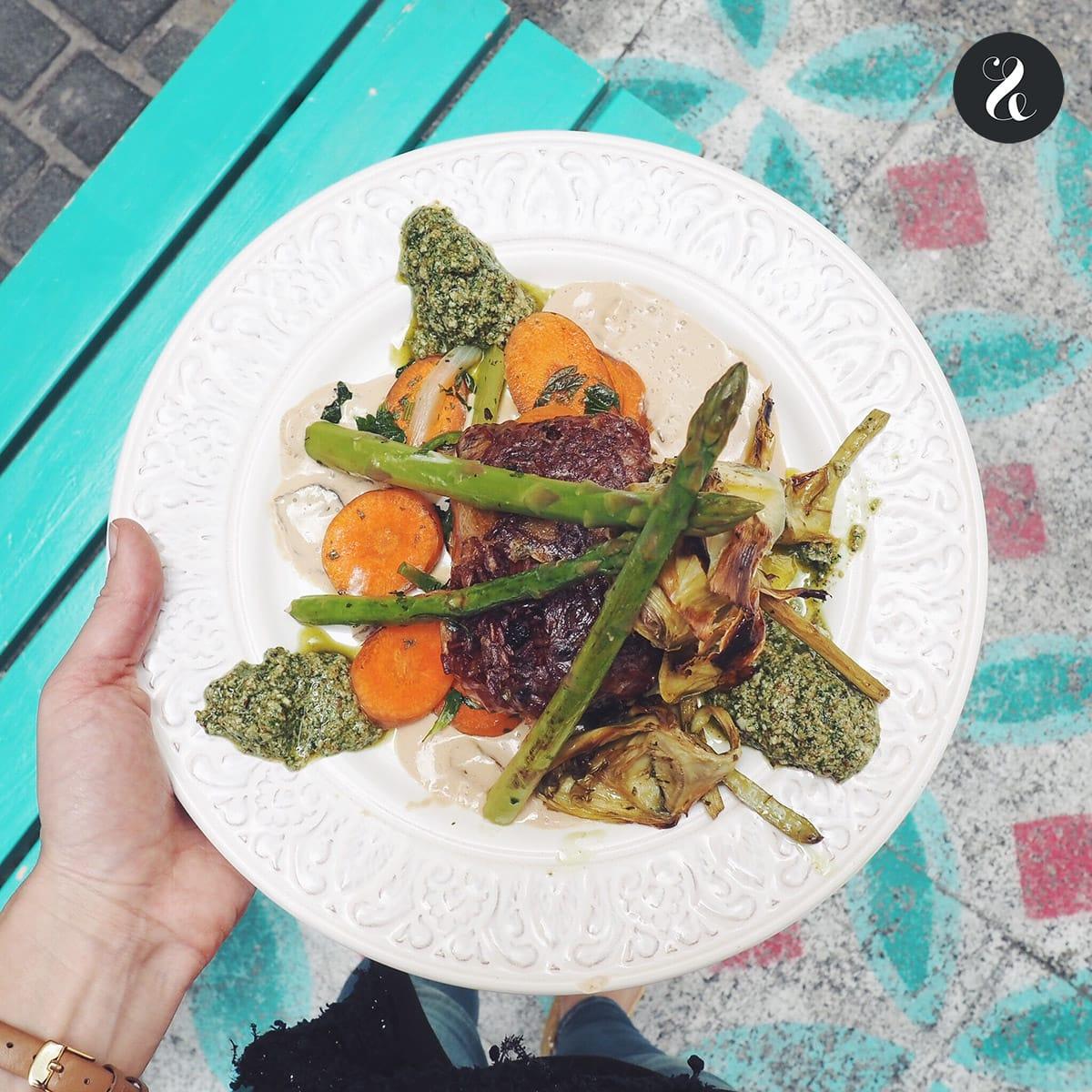 Mejores restaurantes sanos Madrid - Rayén Vegano