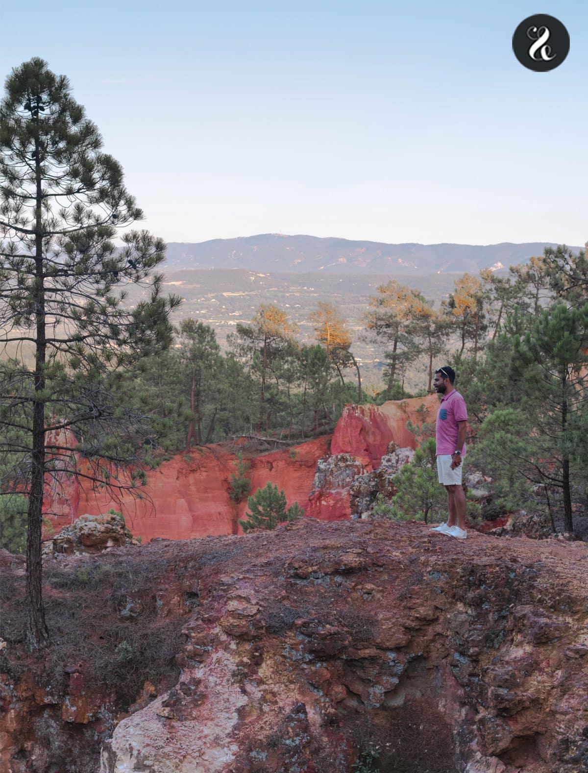 Guía de viaje La Provenza - Costa Azul - Sentier des Ocres