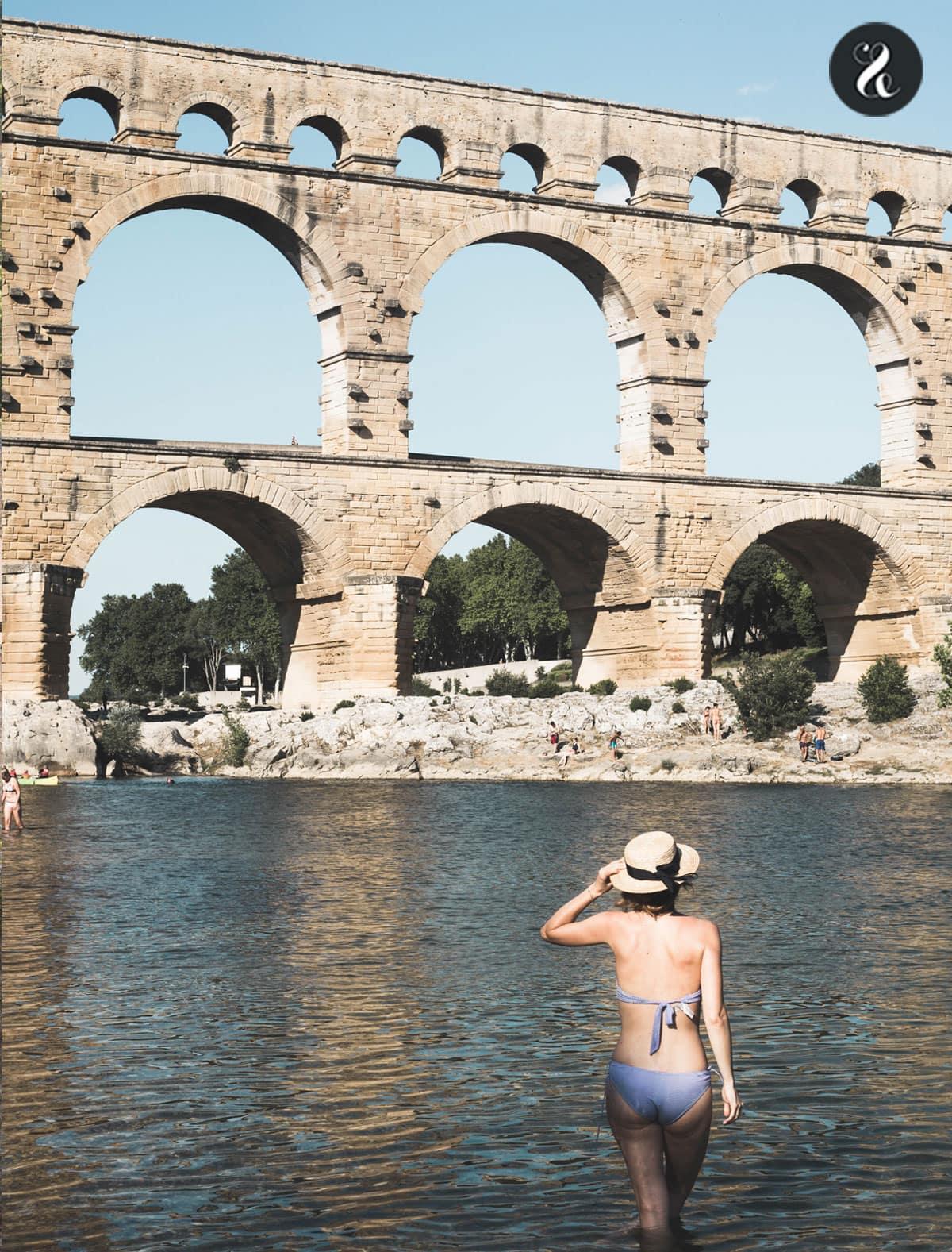 Guía de viaje La Provenza - Costa Azul - Pont du Garde