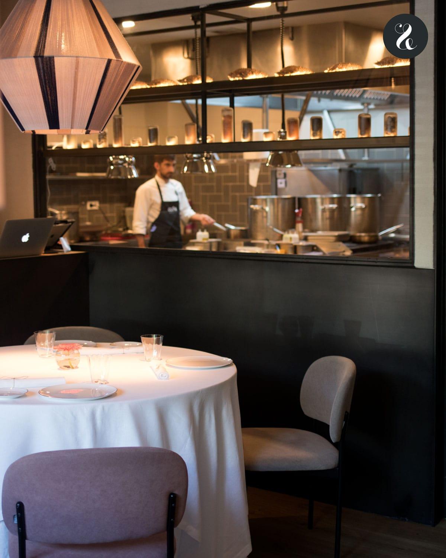 restaurante Clos Madrid sala