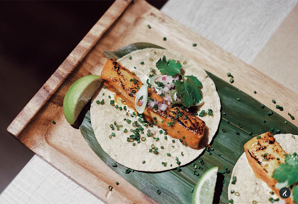 Taco de pez mantequilla - Mawey Taco Bar - Madrid