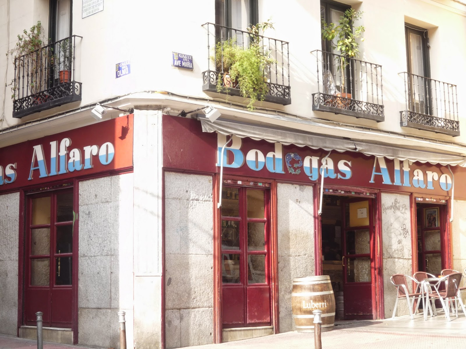 Bodegas Alfaro - mejor vermut Madrid