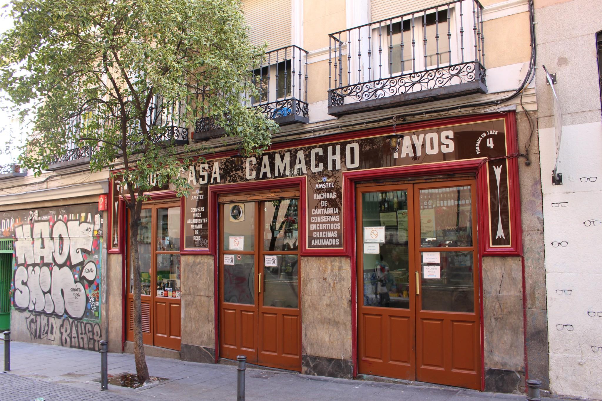 Casa Camacho - mejor vermut Madrid