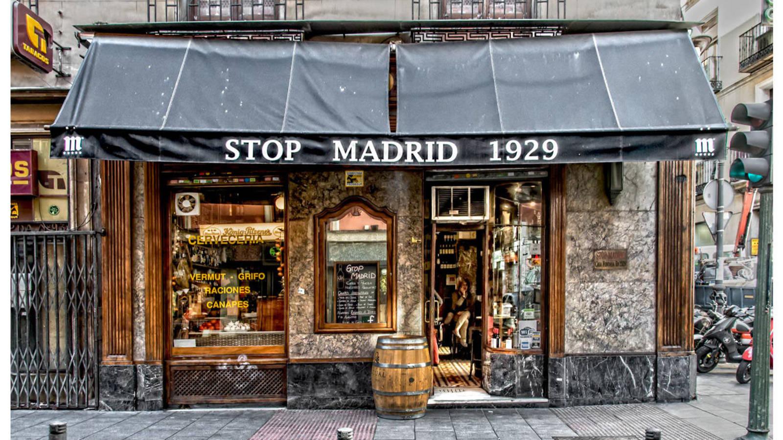 Taberna Stop Madrid - mejor vermut Madrid